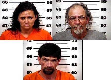 Three charged after drugs, firearms, stolen items found in homes, camper in Rogersville (Image 1)_10226