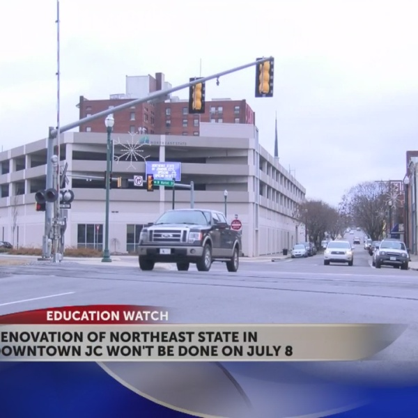 Northeast State's downtown JC campus renovation completion date now late July