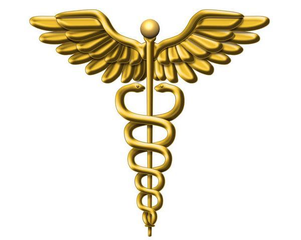 medical symbol gold_18279