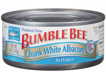 A can of Bumble Bee tuna fish - File _ Photo_ AP_33831