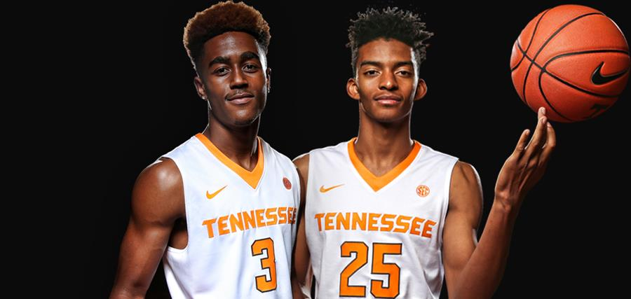 Jalen Johnson Tennessee Volunteers Basketball Jersey - White