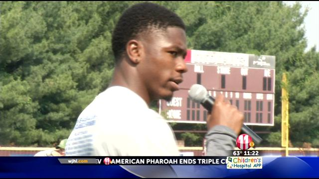 Kingsport's Sensabaugh holds annual kids football camp (Cover)_12318