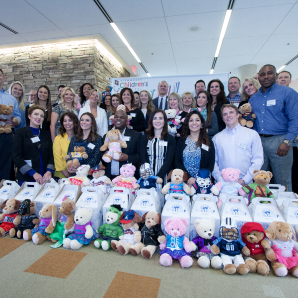 Crown Labs team with Build-A-Bears at Niswonger_114946
