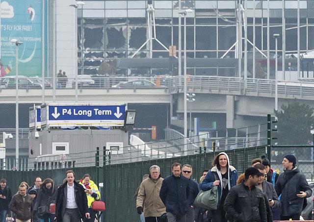 Zaventem Airport in Brussels_135136
