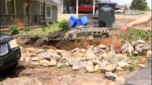 kingsport water line damage_143835