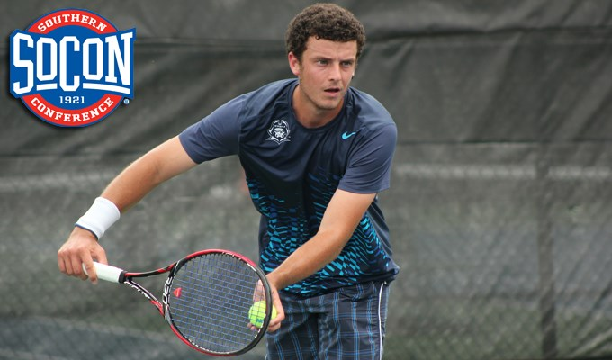 Bucs Biosca named SoCon Men's Tennis Player of the Month (Image 1)_10239