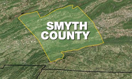 smyth county map_153056