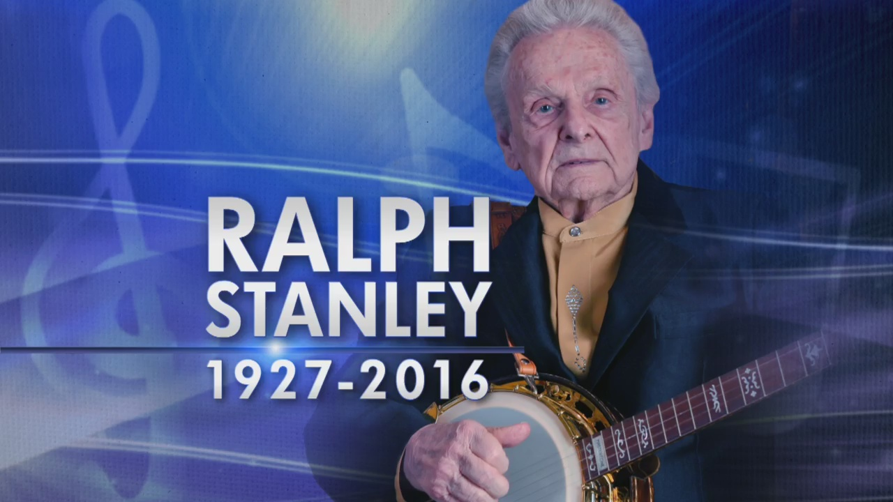 Dr. Ralph Stanley remembered in the birthplace of country music