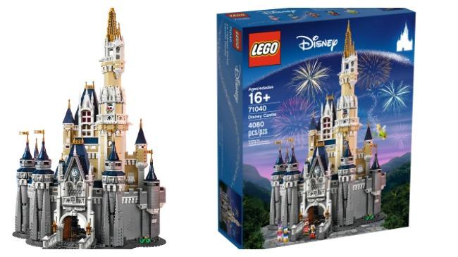 Lego unveils Cinderella Castle replica kit_180270