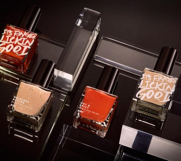 KFC launches 'Finger lickin' good' nail polish_149458