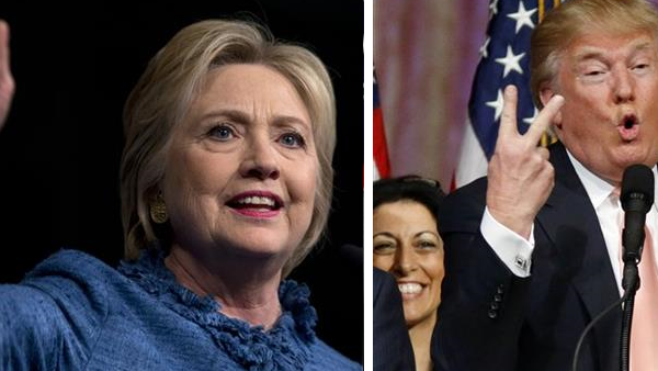 Trump and Clinton_125591
