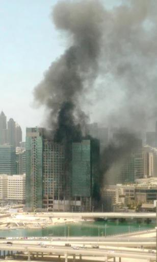 Mideast Emirates Fire_203391
