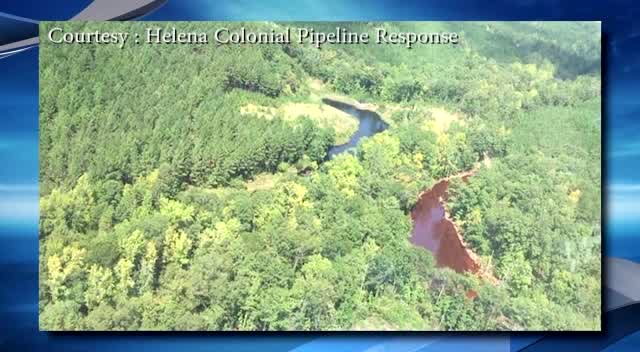 Gas pipeline bursts in Alabama_211556