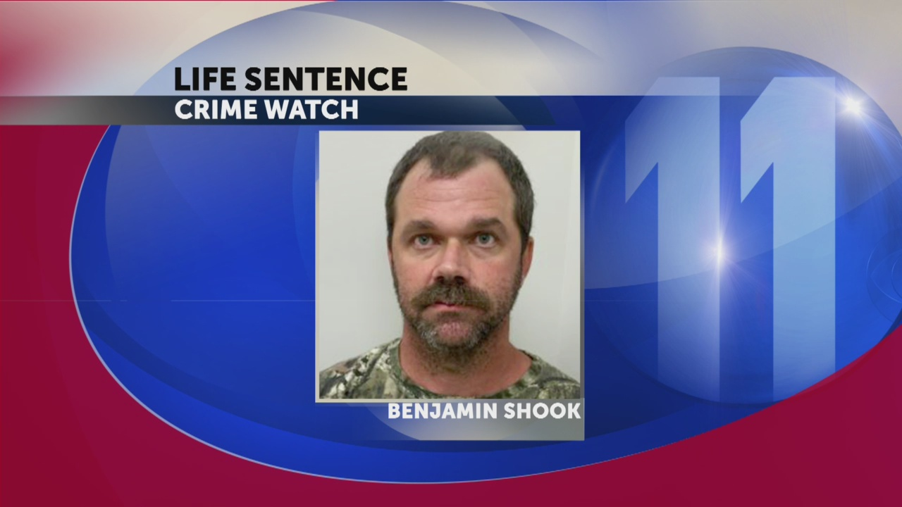 Judge sentences Benjamin Shook to life in prison for 2015 child abduction of Hawkins County girl