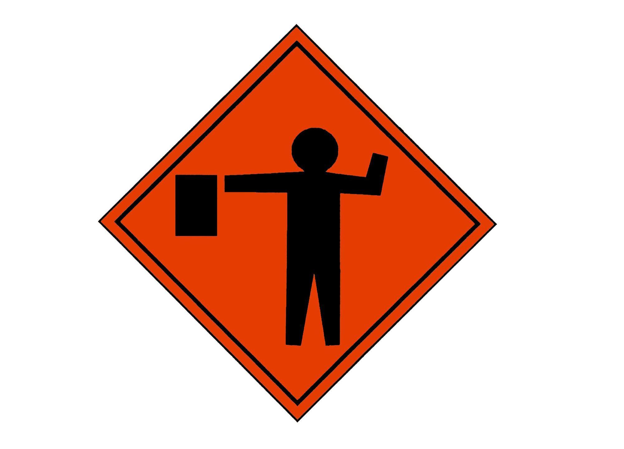 ap_00113001279 traffic flagger road work traffic alert_216579