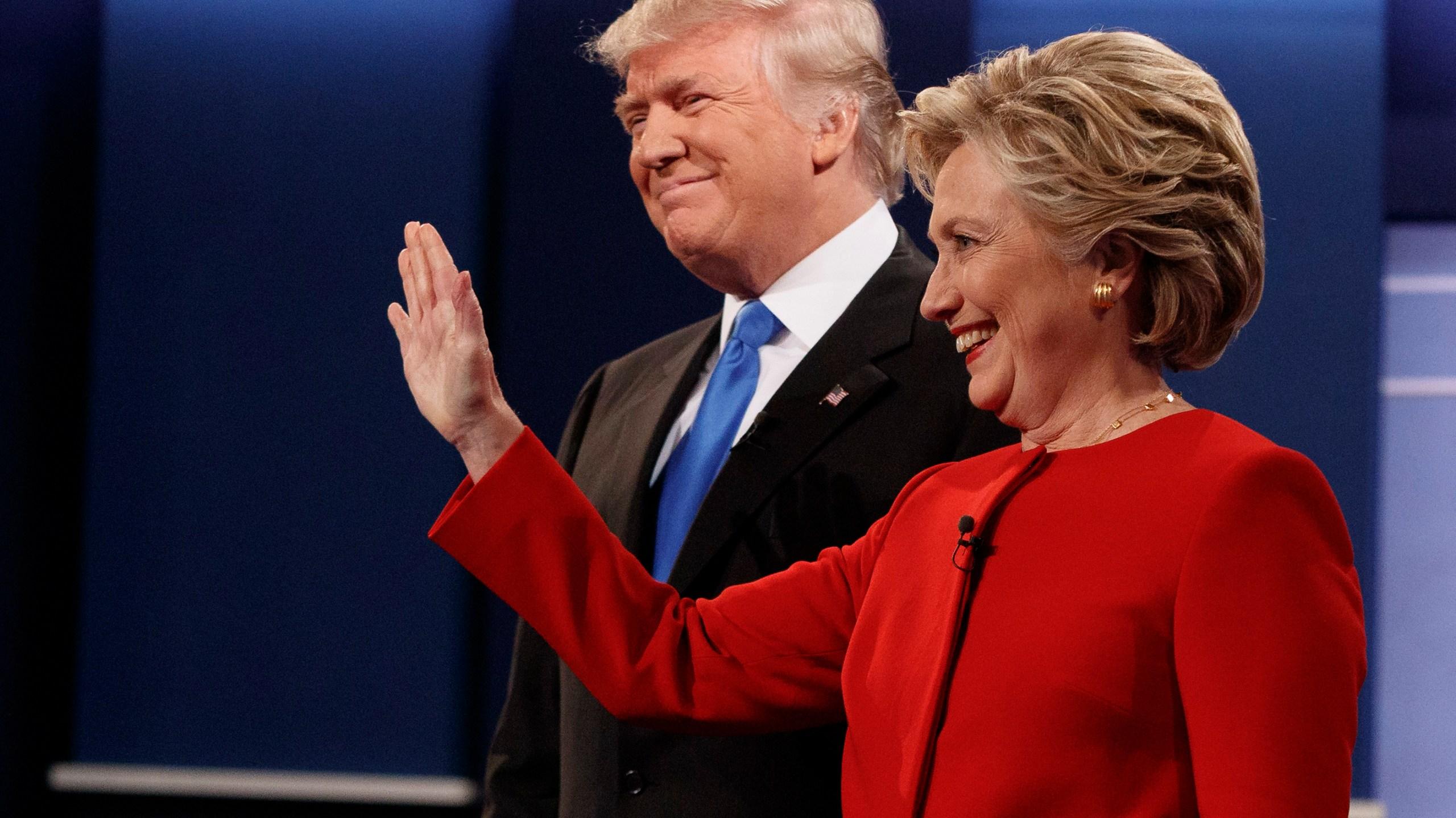 Donald Trump, Hillary Clinton_226438