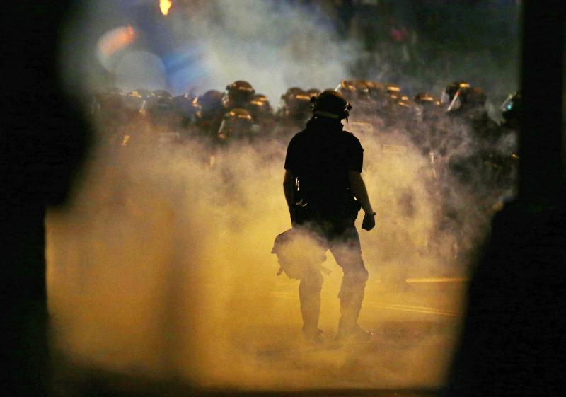 APTOPIX Charlotte Police Fatal Shooting_214236