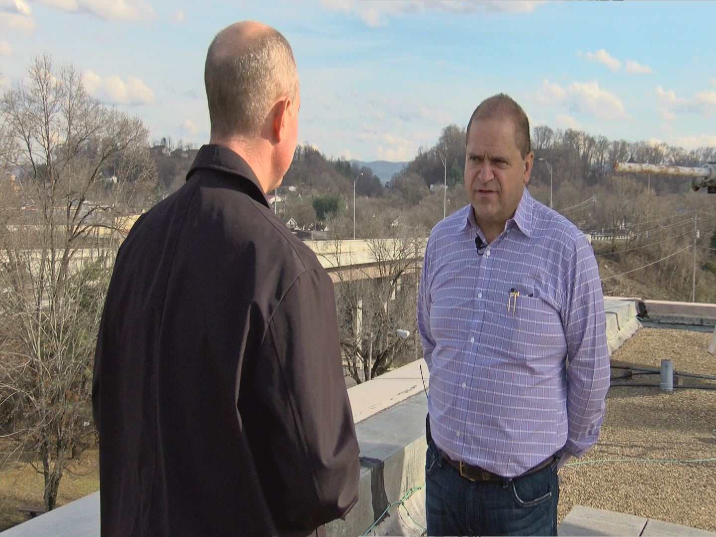 """Joshua Harmon talks to News Channel 11 about VDOT's proactive plan to replace guardrails.  """"They're doing the right thing,"""" he said."""