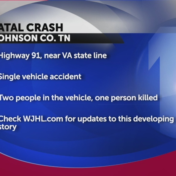 One person killed after car goes over embankment in Johnson County
