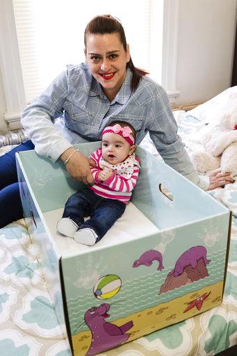 APTOPIX Baby Boxes_295603