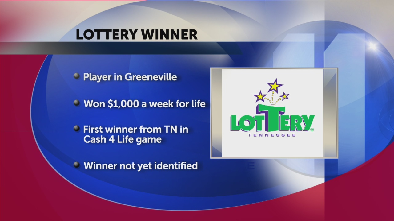 Greeneville resident to get $1,000 a week for life after