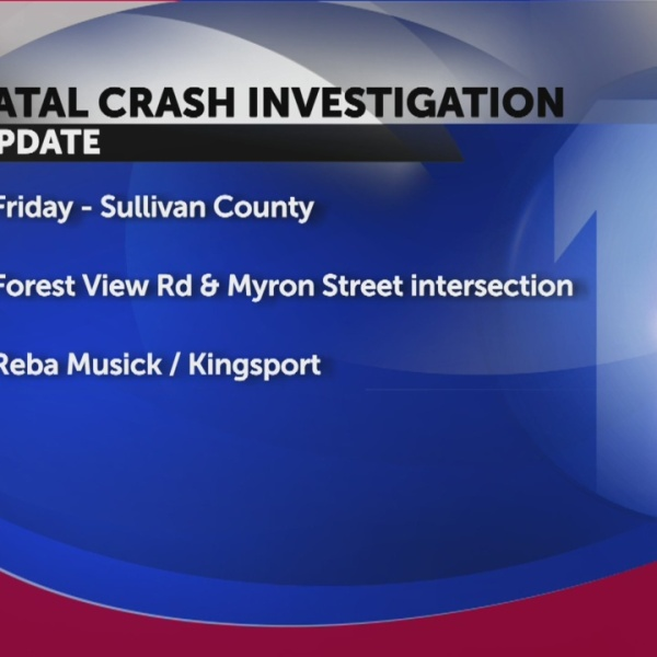 Fatal crash reported in Sullivan Co. Friday morning, driver identified