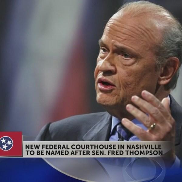 US Senate votes to name Nashville courthouse after actor Sen. Fred Thompson