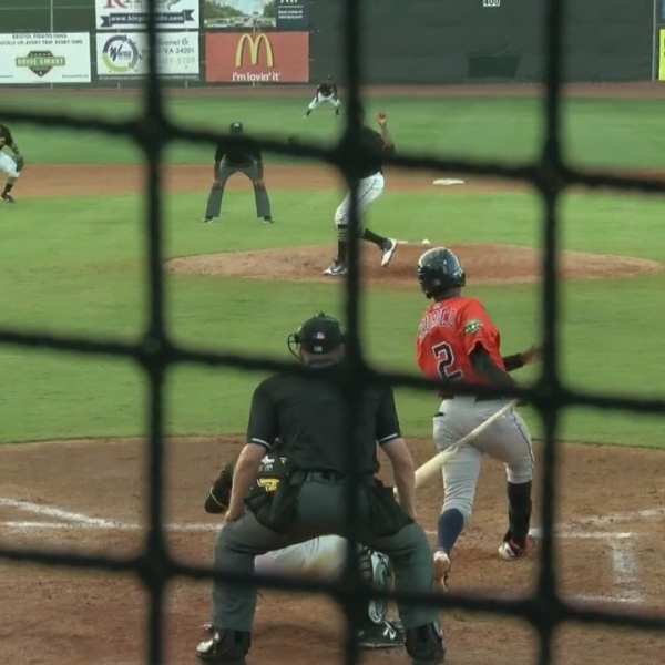 Greeneville Astros pick up a victory over the Bristol Pirates (6/27)