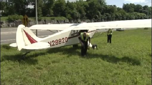 plane on highway_349396
