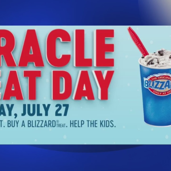 Dairy Queen's Miracle Treat Day, July 27, supports local CMN hospitals