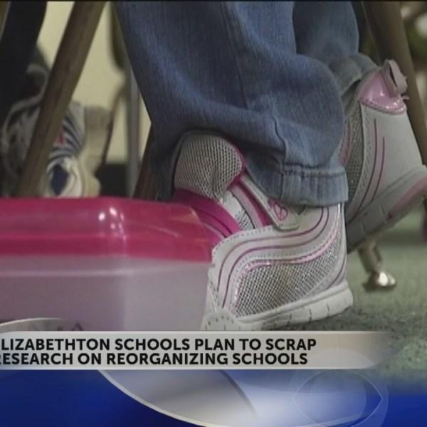 "Elizabethton schools re-organization plan ""tabled"""