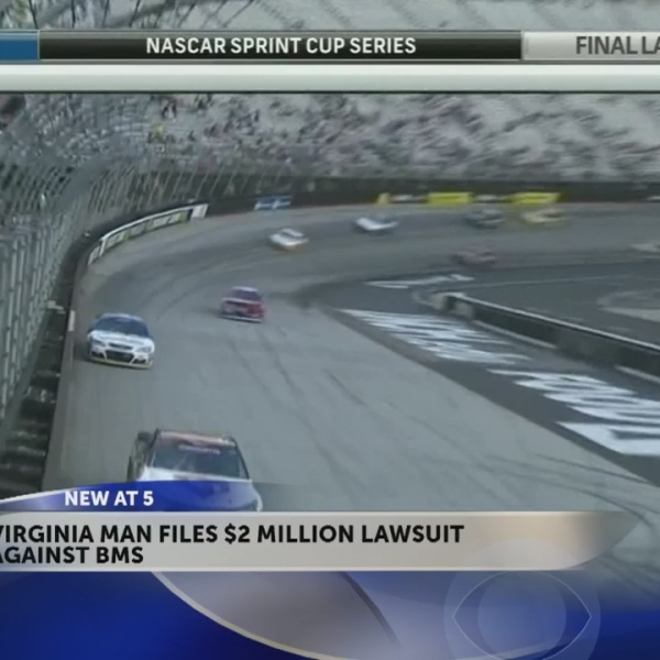 BMS spectator files $2 million federal lawsuit after fall during 2016 night race