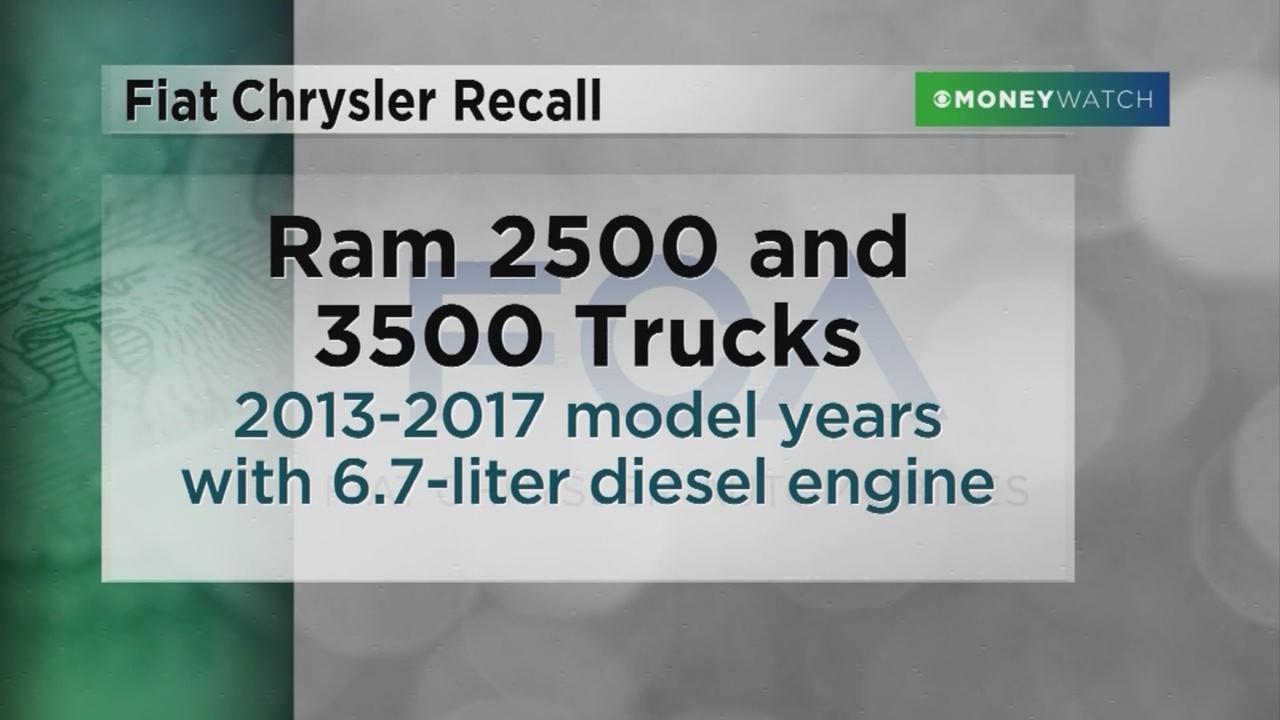 RECALL ALERT: Fiat Chrysler recalling 494,417 Ram trucks for safety issue