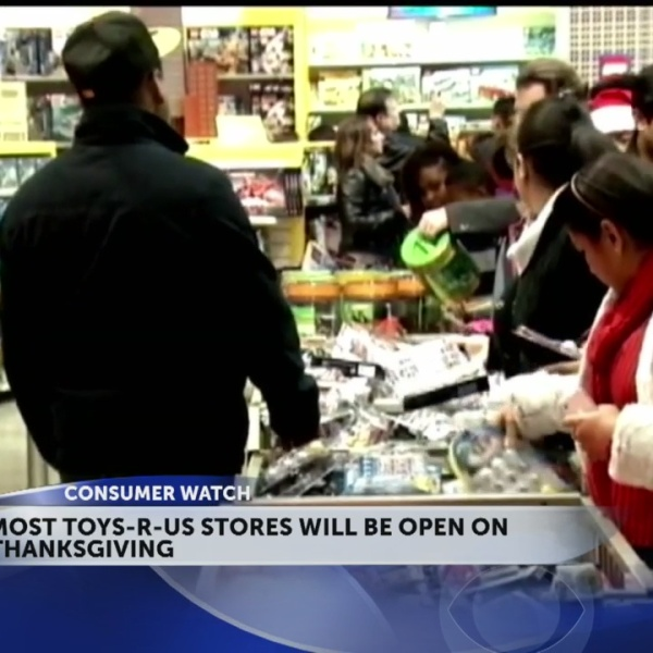 Most Toys-R-Us stores will open on Thanksgiving