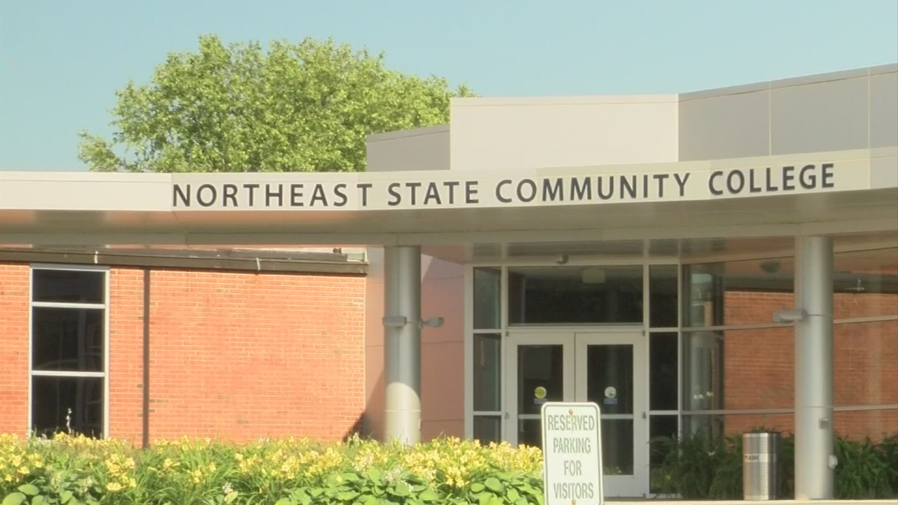 Northeast State Community College sign_433774