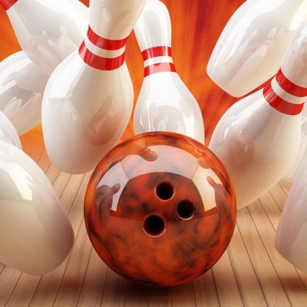 Bowling Strike rot_orange_259222