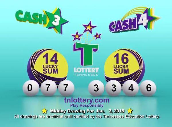 CASH3 CASH4 MIDDAY 1-3-18_460258