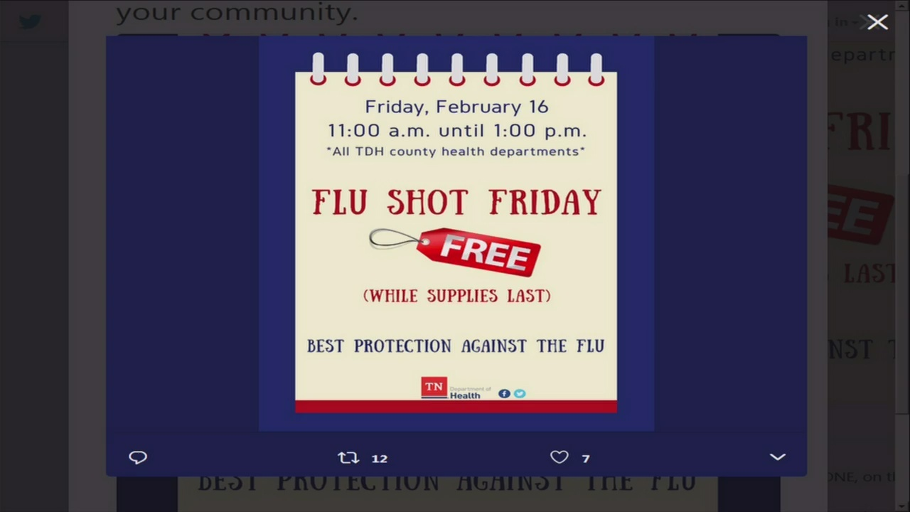 Flu Shot Friday