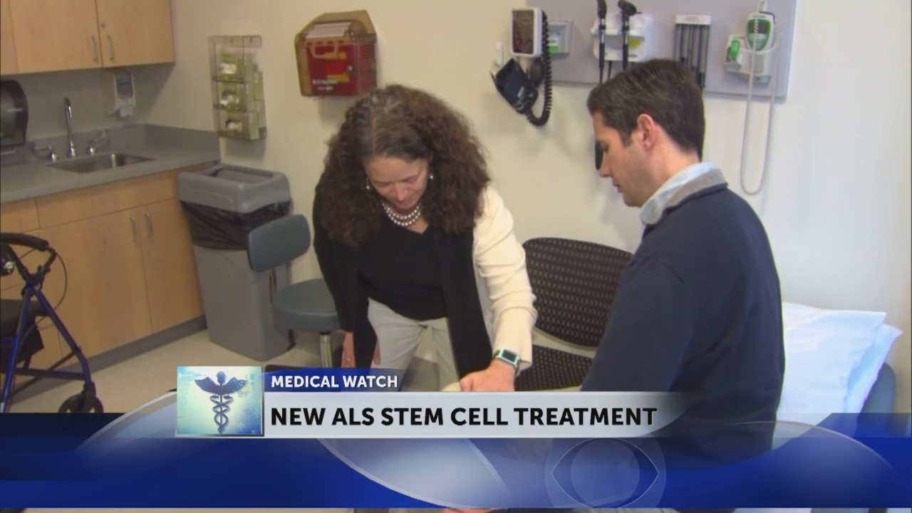 ALS patient hopes stem cell treatment will be 'a powerful