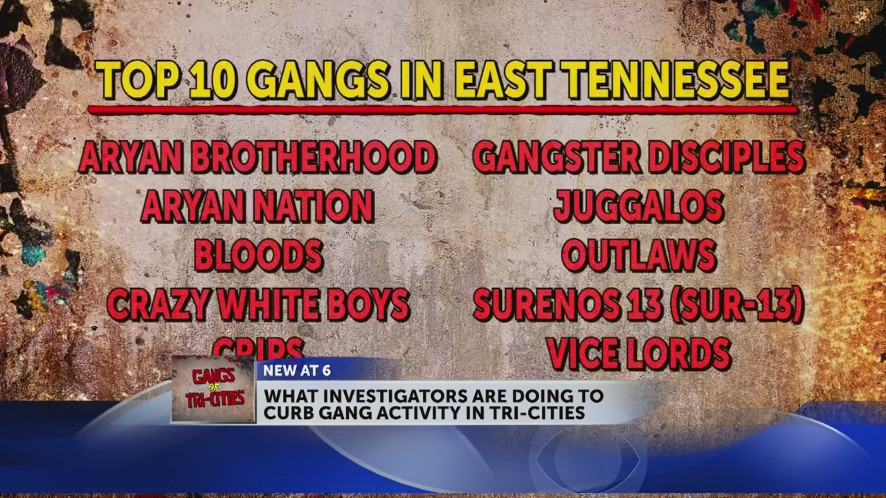 FBI: 'Every major gang' operates in the Tri-Cities