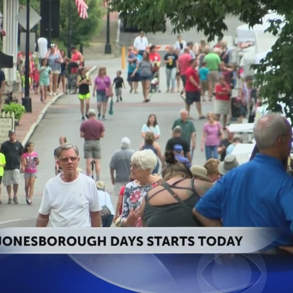 Jonesborough Days kicks off Friday