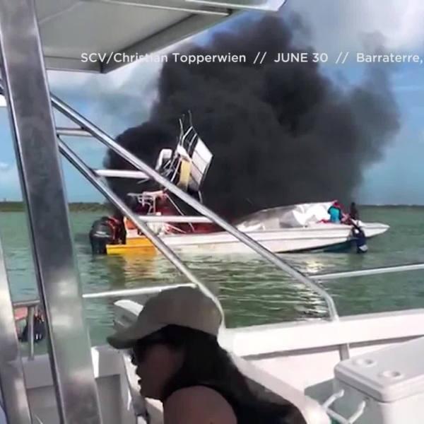 Bahamas Boat Explosion