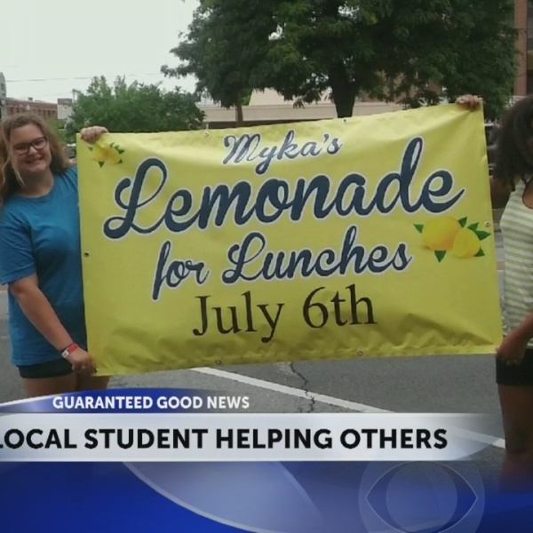 Church Hill student opens lemonade stand to buy lunches for kids in need