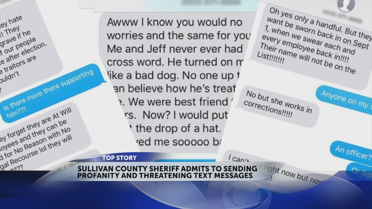 NEW DETAILS: Corrections officer discusses text message exchange with Sheriff Wayne Anderson