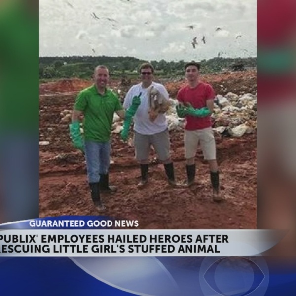 Store Employees Search Landfill for Customer's Lost Stuffed Animal