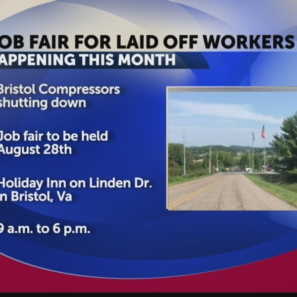 """Bristol community to hold job fair for """"Bristol Compressors"""" employees"""