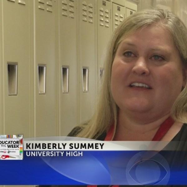 Educator of the Week: Kimberly Summey