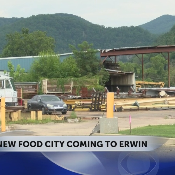 New Erwin Food City expected to open in Spring 2019