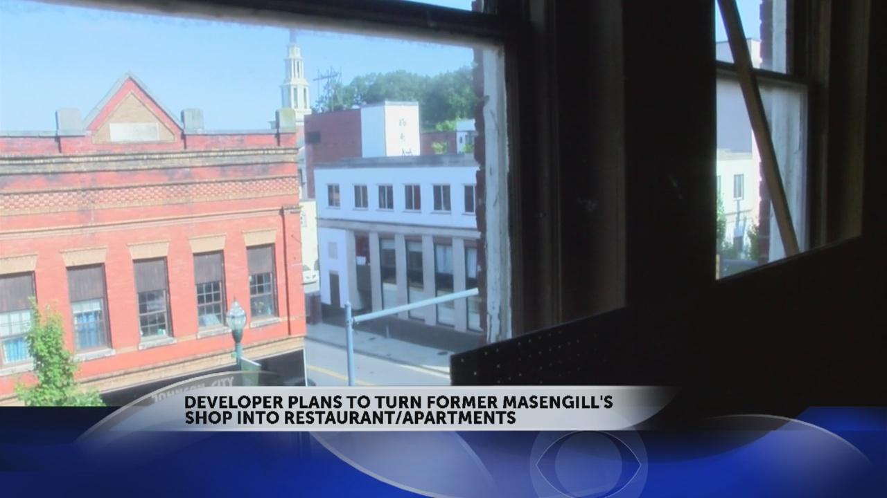 Developer plans restaurant/apartments for old Masengill's building