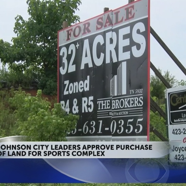 Johnson City Commissioners approve purchase of land for sports complex